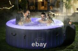 Lay-Z-Spa Bali 4 Person LED Hot Tub Lazy Spa 2021 Model Brand New 1 Day
