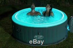 Lay Z Spa Bali 4 Person LED Hot Tub. Trusted Hot Tub Seller, Same Day Ship