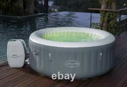 Lay Z Spa Bali AirJet 2021 LED 2-4 Person Hot Tub Freeze Shield Brand New