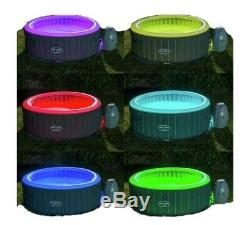 Lay Z Spa Bali Airjet With LEDs. Brand New, UK Stock