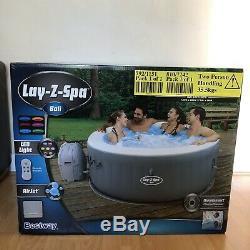 Lay-Z Spa Bali Hot Tub 2-4 Person with LEDs NEXT DAY SHIPPING BRAND NEW