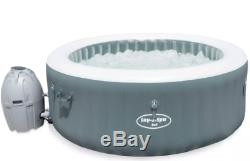 Lay Z Spa Bali LED Hot Tub 2-4 People Warranty (Not Vegas Paris Miami)