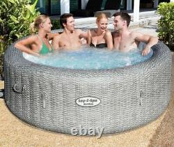 Lay-Z-Spa Honolulu 6 Person LED Hot Tub massagefreeze protect2021 trusted