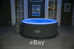 Lay Z Spa Lazy Spa Bali Airjet with LED's Hot Tub FREE DELIVERY BRAND NEW