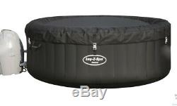 Lay Z Spa Lazy Spa Miami Airjet Hot Tub With LED Lighting For 4 Adults