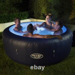 Lay-Z-Spa New York Hot Tub Jacuzzi 4-6 Person LED's St Moritz Helsinki Hawaii