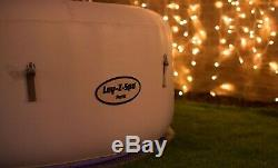 Lay Z Spa Paris LED Lights Air Jet Hot Tub Spa 6 Person FREE EXPRESS DELIVERY