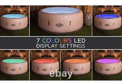 Lay Z Spa Paris New Style 4-6 Persons Hot Tub Massage Air Jets LED Lights Cover