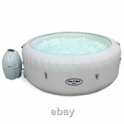 Lay-Z-Spa Tahiti AirJet Hot Tub Inflatable Hot Tub with LED Lights for 4