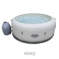 Lay-z-spa Paris Airjet Hot Tub Brand New Led Lights Uk Stock Free Delivery