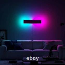 Modern Colour RGB Minimalist LED Wall Lamp Mood lighting RGB wall light