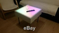 Modern Led color changing coffee table decorative sensory unique mood light