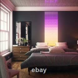 Nanoleaf Canvas Smarter Kit Light Squares Color Changing LED Bulb (9-Modular)