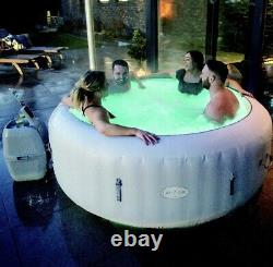 New Bestway Lazy, Lay Z Spa Paris Hot Tub Jacuzzi With LED Light 2021 model
