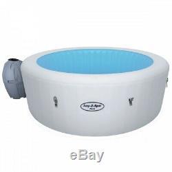 New Lay-Z-Spa Paris Hot Tub, LED Lights, 4-6 People
