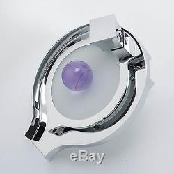 New Led Colour Changing Bath / Basin Chrome Plated Hot/Cold Waterfall Water Tap