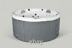 New Palm Spas Halo Luxury Hot Tub Spa 7 Seat American Balboa Music Led Lights
