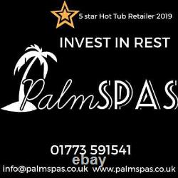 New Palm Spas Tropic Luxury Hot Tub Spa 7 Seat American Balboa Music 32amp Leds