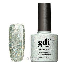 New gdi DIAMOND RANGE K19- Crown Jewls UV/LED Gel Nail Polish, Varnish