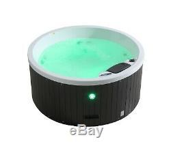Okanagan 10 Jet 4 Person Plug & Play Acrylic Spa LEDs, & Ozone