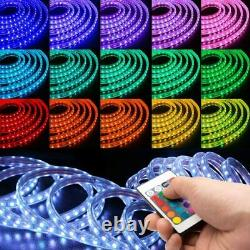 Open Box 150 ft Color Changing LED Strip Flexible 5050 SMD Remote Included