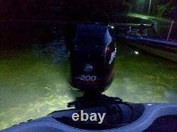 Oss Quasar Rgb Color Changing 8000 Total Lumens Underwater Boat Drain Plug Led