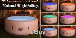 PRE ORDER Lay-Z-Spa Paris 4-6 person Hot Tub, LED Lights, End of July Delivery