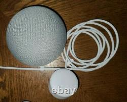 Philips Hue 4 White & Color Bulbs E26, 1 Bloom Lamp, 1 Bridge & 1 Google mini