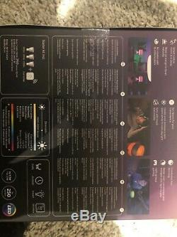 Philips Hue GU10 Spot White & Colour Ambiance Starter Kit Smart Bulb 3x Pack LED