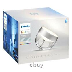 Philips Hue Iris Table Lamp (Silver Limited Edition) White and Colour Ambiance