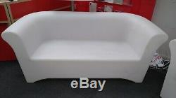 Plastic LED Colour Changing Commercial Domestic Sofa, Armchair, Table CS H64