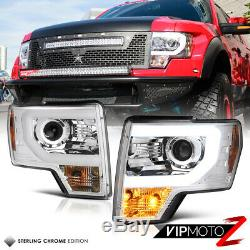 RAPTOR STYLE SMD DRL Headlights COLOR CHANGING LED LOW BEAM 09-14 Ford F150