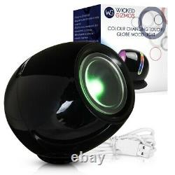 Rechargeable 256 Automatic Colour Changing Led Mood Touch Light Usb Portable New