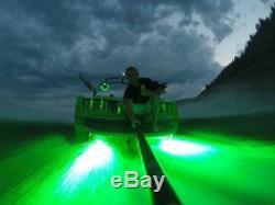 Rgb Color Changing Titan Led Underwater Boat Drain Flange Led 8000 Lumens
