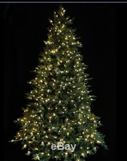 Sb30 7ft Santas Best Pre Lit Colour Changing Warm Led Lights Christmas Tree