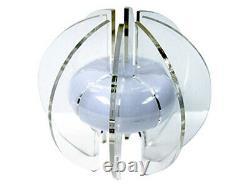 Spearmark Core Of Light Led Light Colour Changing Silver Sphere Sculpture Lamp