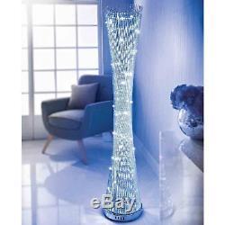 Spiral Floor LED Light Colour Changing Lamp Indoor Luxury Living Room Lighting