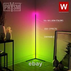 The Prysm Modern RGB Lamp LED Corner Floor Lamp LED Light Strip for Room