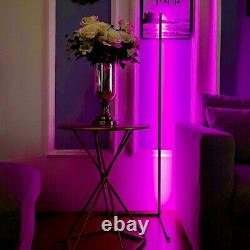 VINCITALL Modern LED Floor Lamp with Color Change RGB LED, Touch Remote Control