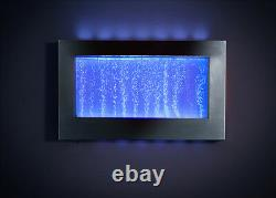 Wall Mounted Picture Frame Bubble Water Feature Fountain Contemporary Indoor