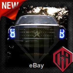 07-13 Chevy Silverado Changer La Couleur Télécommande Led Halo 4 Pc Phares Kit