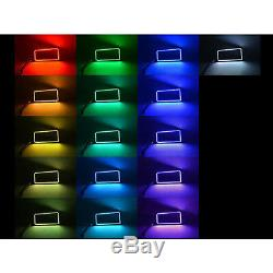 07-14 Chevy Silverado Ensemble D'anneaux Halo Pour Phares Antibrouillard Changeants Multicolores À Led