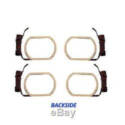 07-14 Chevy Silverado Multi-couleurs Changeantes Led Rvb Décalage Phares Halo Bague