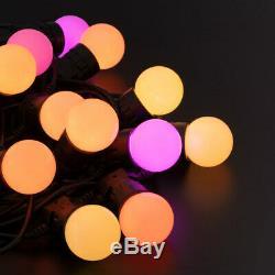 10 M Twinkly Gen II Intelligente App Contrôlée Led Feston Lumières De Noël Décor