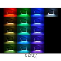 11-16 Anneaux M7 Phare Led Rgb Pour Phare Rgb À Changement De Camion Ford F-250 Multicolore