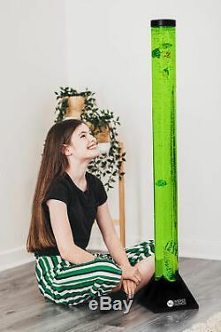 120cm Changement De Couleur Led Sensorielle Mood Bubble Lampe Poisson Water Tower Tube Étage