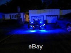 18 Changement De Couleur Led Can-am Ryker 900 20pc Motorcycle Led Neon Strip Light Kit