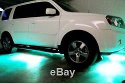 18 Changement De Couleur Led Ford Focus Sous 18pc Voiture Sous Corps Led Neon Glow Light Kit