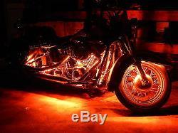 18 Changement De Couleur Led Hayabusa Moto 12pc Led Neon Strip Light Kit