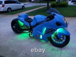 18 Changement De Couleur Led Hayabusa Moto 18pc Motorcycle Led Neon Lighting Kit
